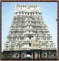The Main Tower of Varadharaaja Perumal Temple